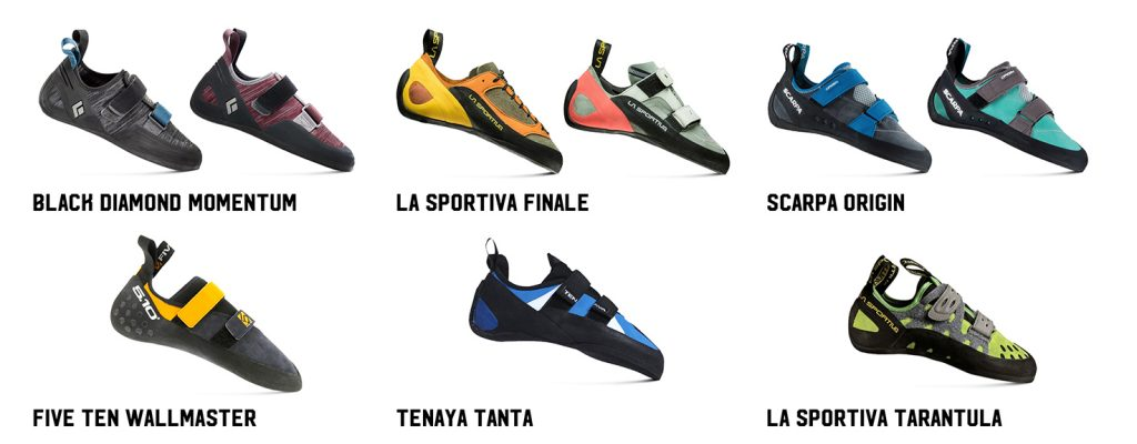 Climbing shoes: which one is right for